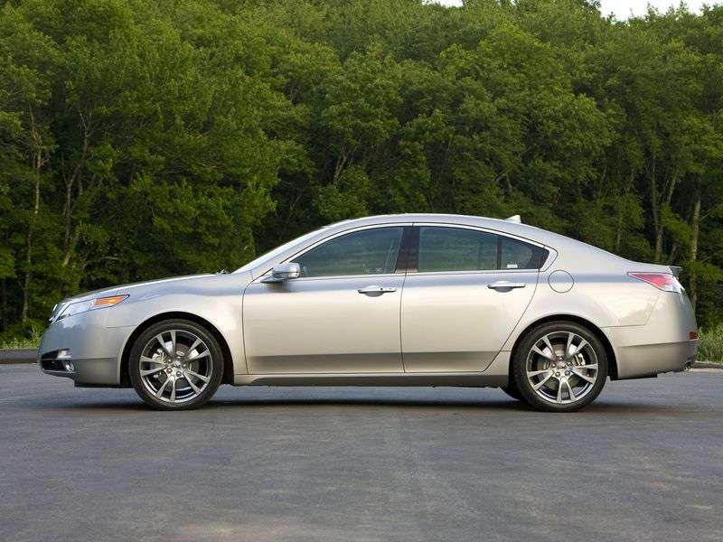 Acura TL 4 generation sedan 3.7 AT (2009–2011)