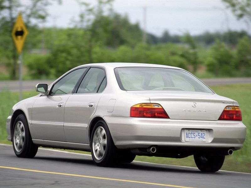 Acura TL 2nd generation 2.5 AT sedan (1998–2001)