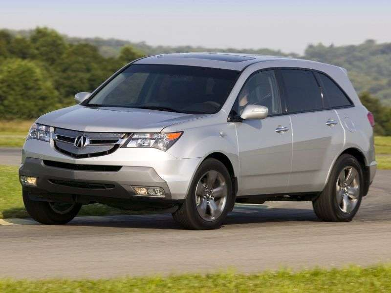 Acura MDX 2 generation crossover 3.7 AT 4WD (2007 – present)