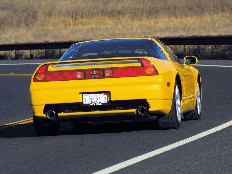 Acura NSX 1st generation [restyled] coupe 3.0 MT (2002–2005)