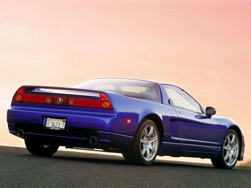 Acura NSX 1st generation [restyling] coupe 3.2 MT (2002–2005)