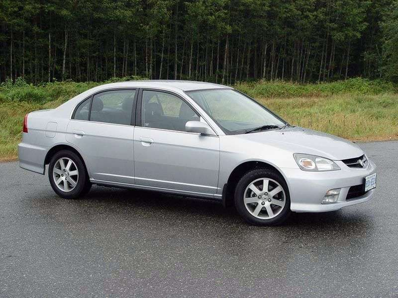 Acura EL 2nd generation sedan 1.7 MT (2001–2003)