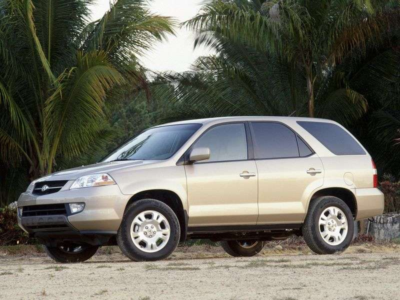 Acura MDX 1st generation crossover 3.5 AT (2001–2003)