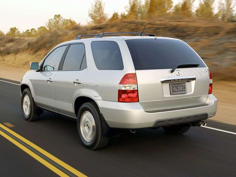 Acura MDX 1st generation crossover 3.5 AT 4WD (2001–2003)