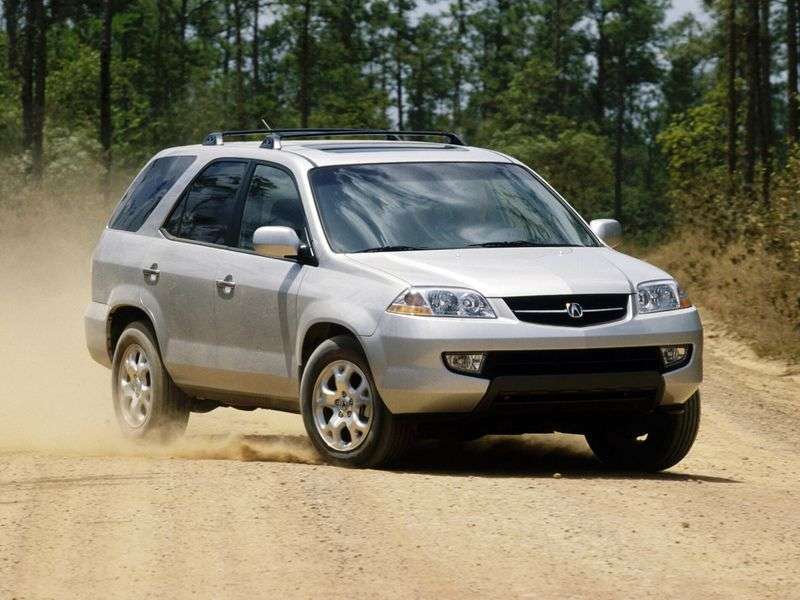 Acura MDX 1st generation crossover 3.5 AT 4WD (2003–2006)