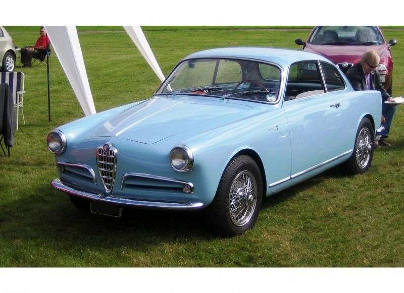 Alfa Romeo Giulietta 750 / 101Sprint Coupe 2 dv. 1.3 MT (1954–1956)