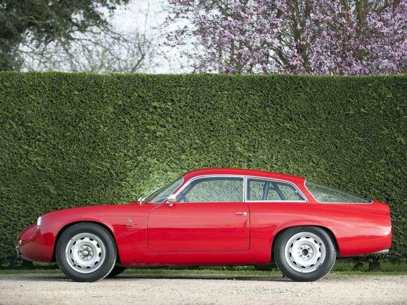 Alfa Romeo Giulietta 750/101 [2. zmiana stylizacji] SZ Coda Tronca coupe 2 drzwiowe. 1,3 mln ton (1961 1962)