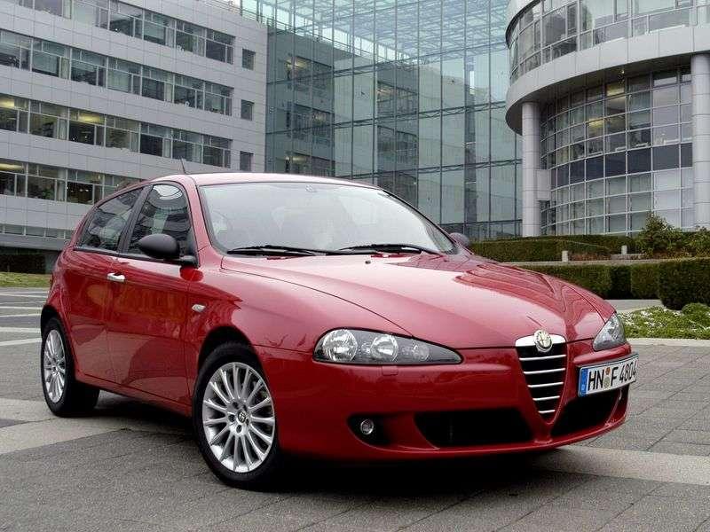 Alfa Romeo 147 2nd generation hatchback 5 dv. 2.0 SS (2004–2010)