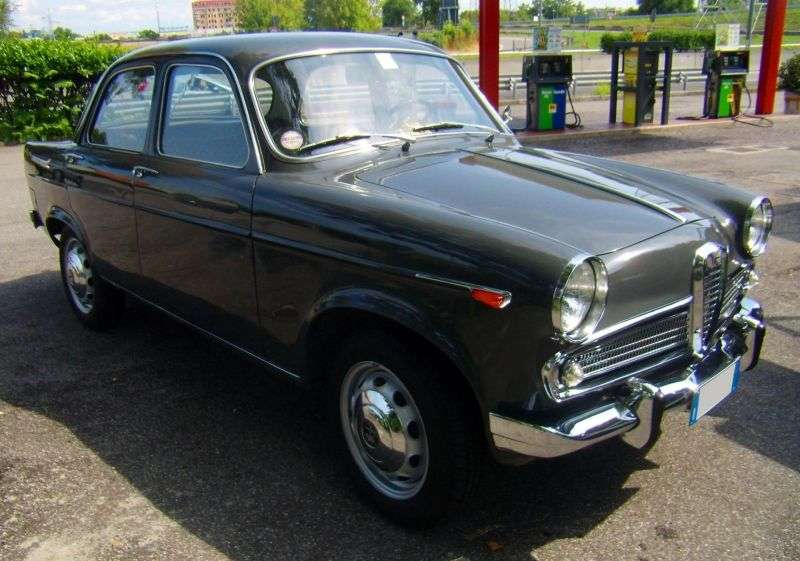 Alfa Romeo Giulietta 750/101 [restyling] Berlina sedan 1.3 MT (1959–1961)