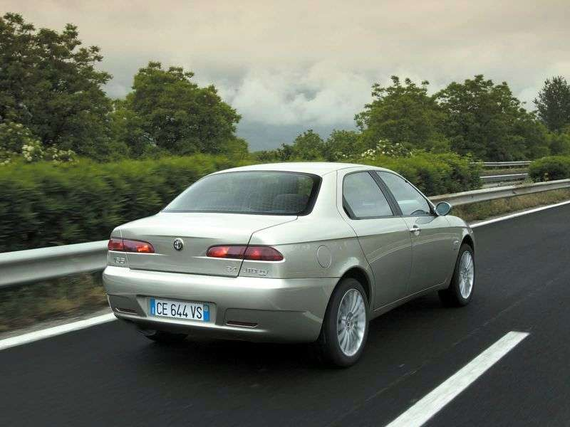 Alfa Romeo 156 932 [restyling] 4 doors sedan 2.0 JTS MT (2003–2006)