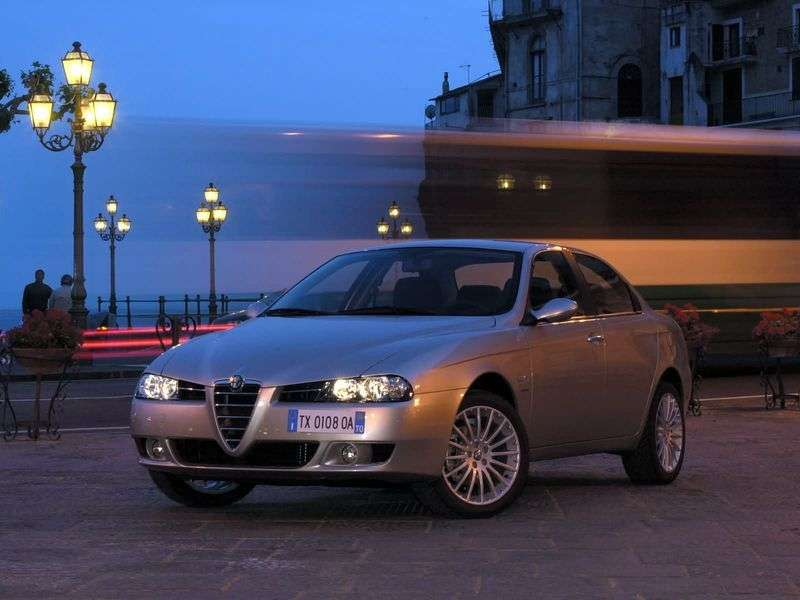 Alfa Romeo 156 932 [restyling] 4 doors sedan 1.8 MT (2003–2006)