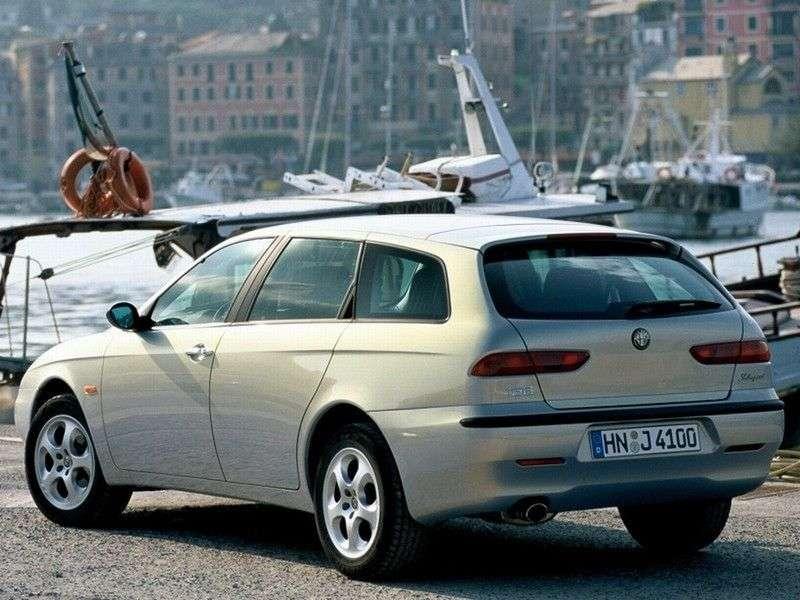 Alfa Romeo 156932 Nieruchomości 2.5 MT (1997 2003)