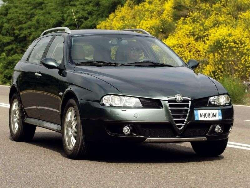 Alfa Romeo 156 932 [zmiana stylizacji] Crosswagon kombi 5 drzwiowy. 1.9 JTD MT (2004 2007)