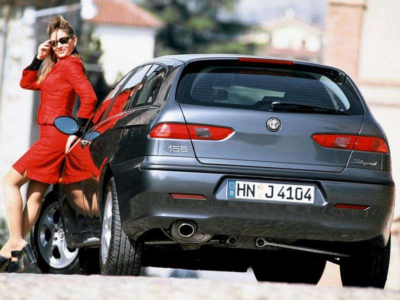 Alfa Romeo 156,932universal 2.5 MT (1997–2003)