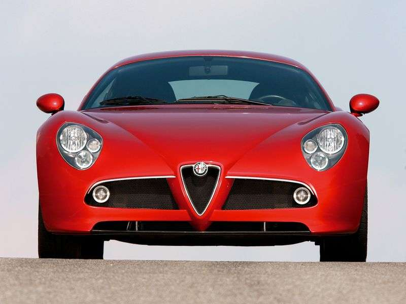 Alfa Romeo 8C Competizione 1st generation coupe 4.7 MT (2007–2009)