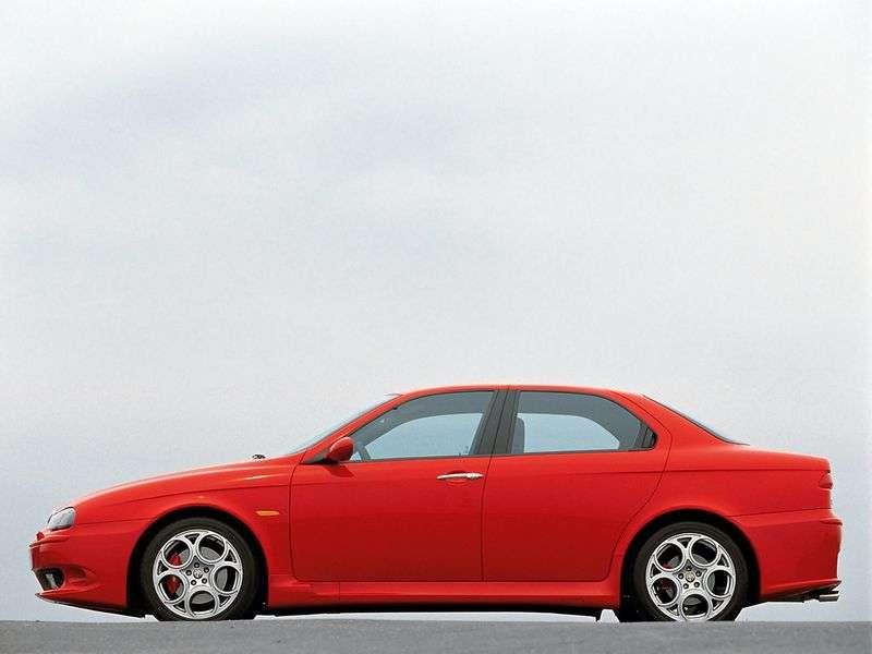 Alfa Romeo 156 932 [restyling] GTA sedan 4 doors 3.2 MT (2002–2007)