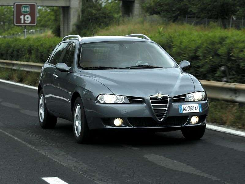 Alfa Romeo 156 932 [zmiana stylizacji] Sport Wagon kombi 5 drzwiowy. 1,6 MT (2002 2004)