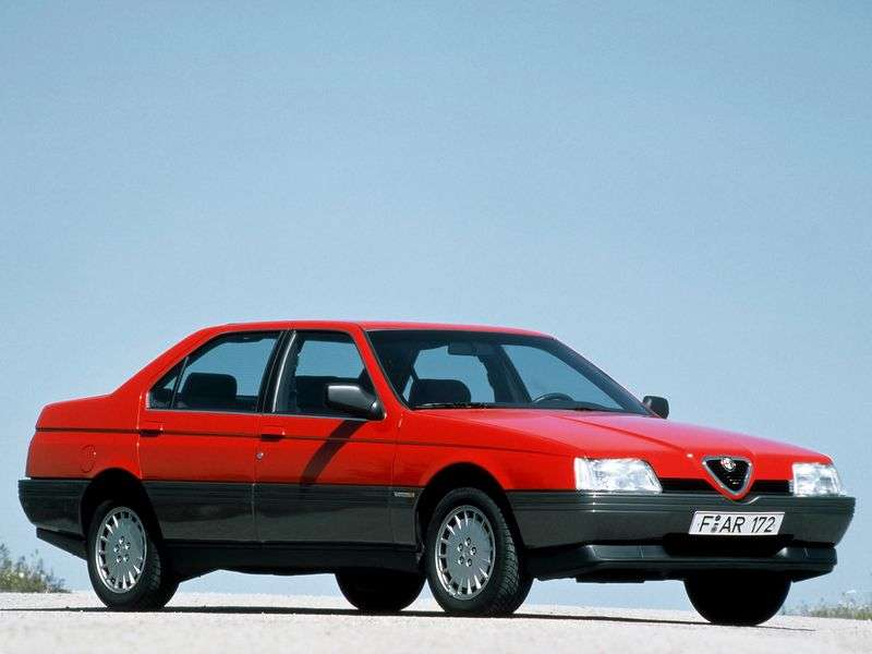 Alfa Romeo 164 1st generation 2.0 MT sedan (1987–1991)
