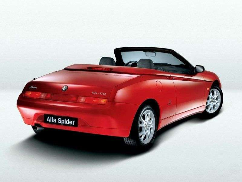 Alfa Romeo Spider 916 roadster 3.0 MT (2002 2006)