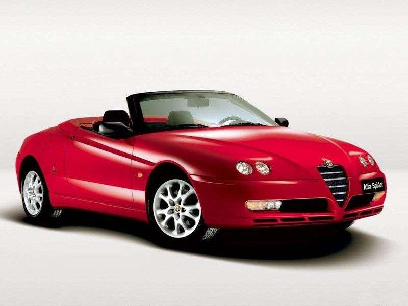 Alfa Romeo Spider 916 Roadster 3.2 MT (2002 2006)