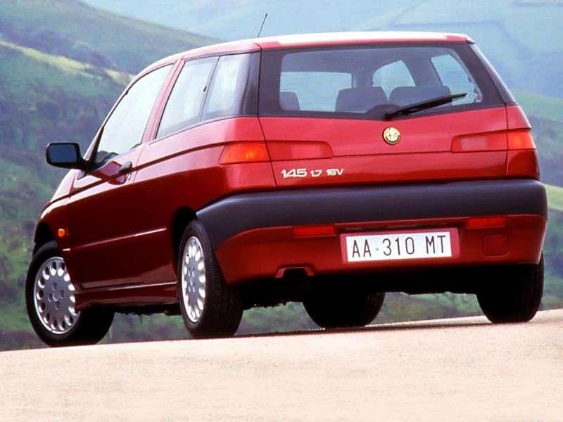 Alfa Romeo 145930 hatchback 1.7 MT (1998 1999)