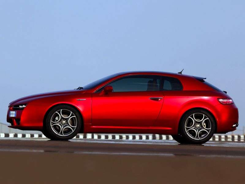 Alfa Romeo Brera 1st generation coupe 3.2 AT (2005–2008)