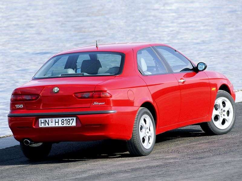 Alfa Romeo 156 932 Sedan 1.8 MT (1997–2003)