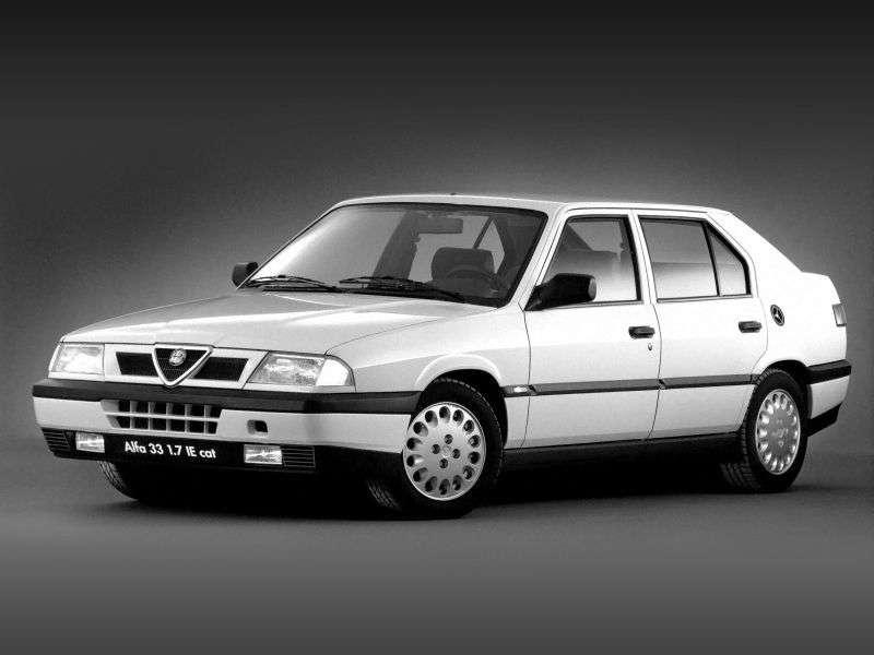 Alfa Romeo 33 907hatchback 1.7 MT AWD (1990–1992)