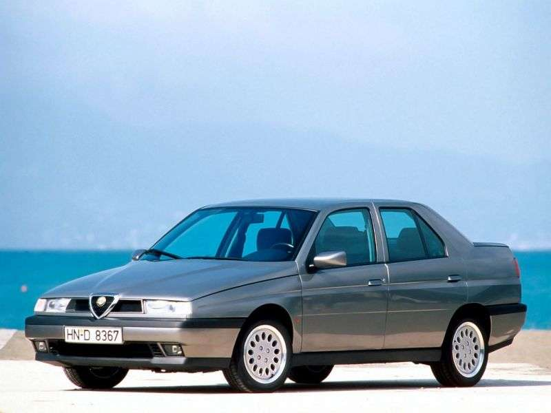 Alfa Romeo 155 167 [restyling] 1.7 MT sedan (1995–1996)