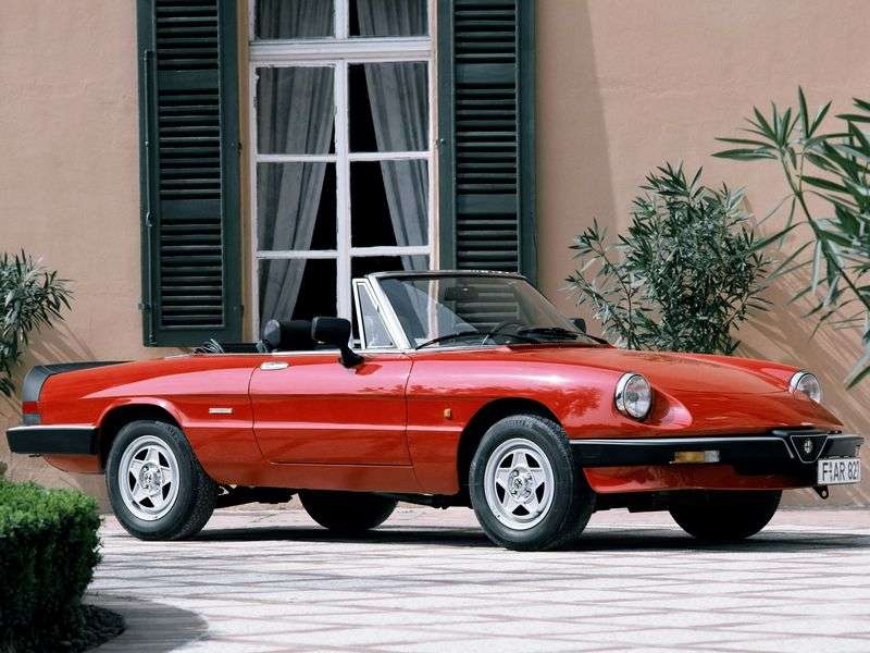 Alfa Romeo Spider 115 Roadster 2.0 AT (1992 1993)