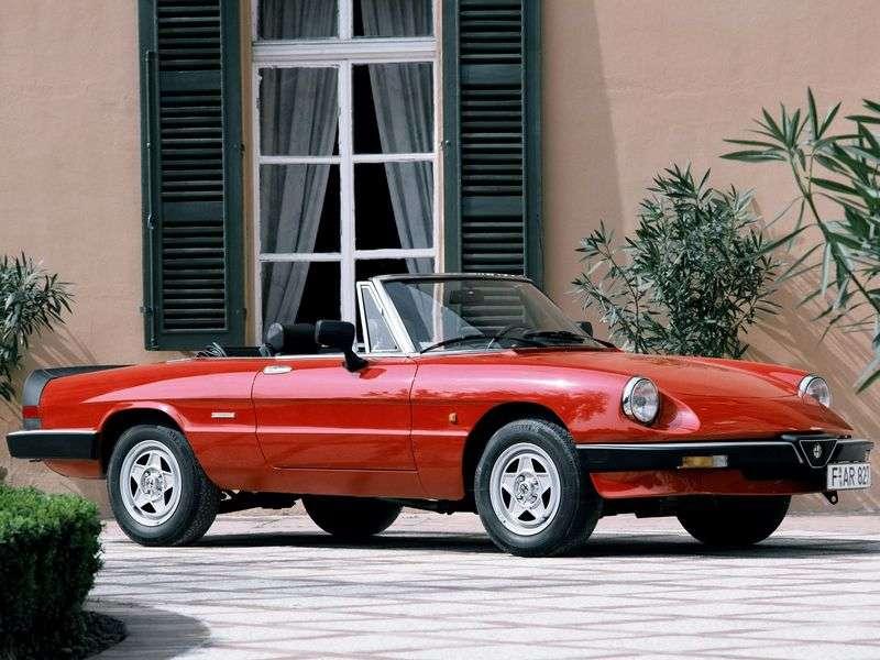 Alfa Romeo Spider 115 rdster 2.0 MT (1990–1993)