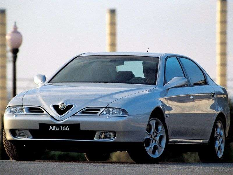 Alfa Romeo 166 936 Sedan 3.2 MT (2003–2007)