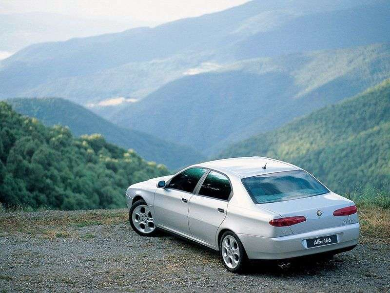 Alfa Romeo 166 936 Sedan 2.5 MT (2001–2003)
