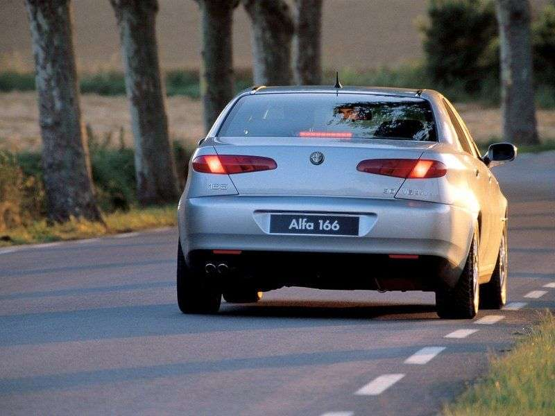 Alfa Romeo 166936 sedan 2.0 MT (1998 2001)