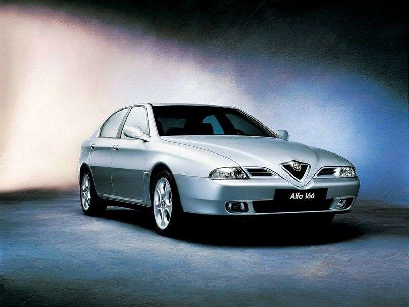 Alfa Romeo 166 936 Sedan 2.0 MT (2001–2005)