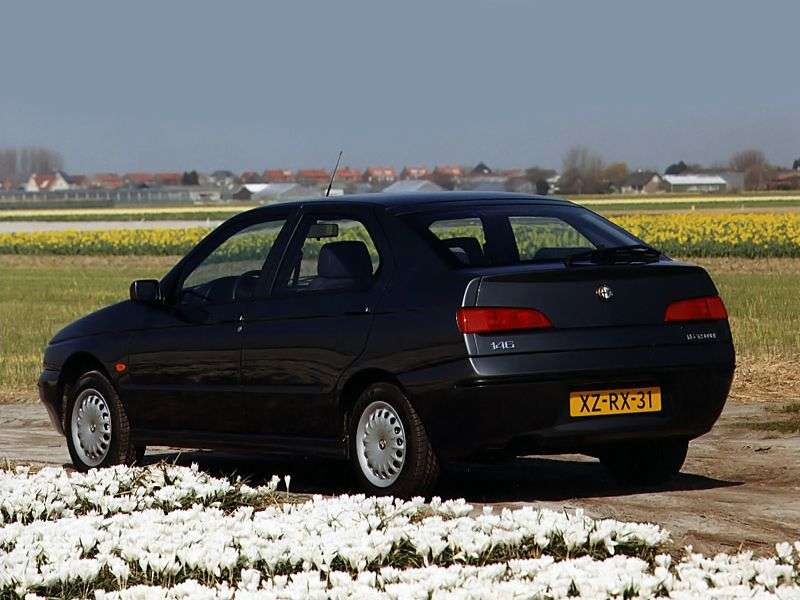 Alfa Romeo 146 930 sedan 1.6 MT (1997–2001)