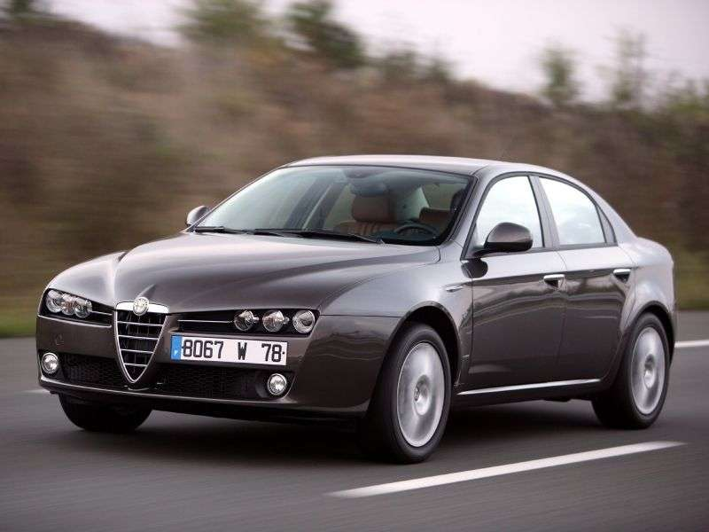 Alfa Romeo 159 1st generation 1.75 TBi MT sedan (2009–2011)