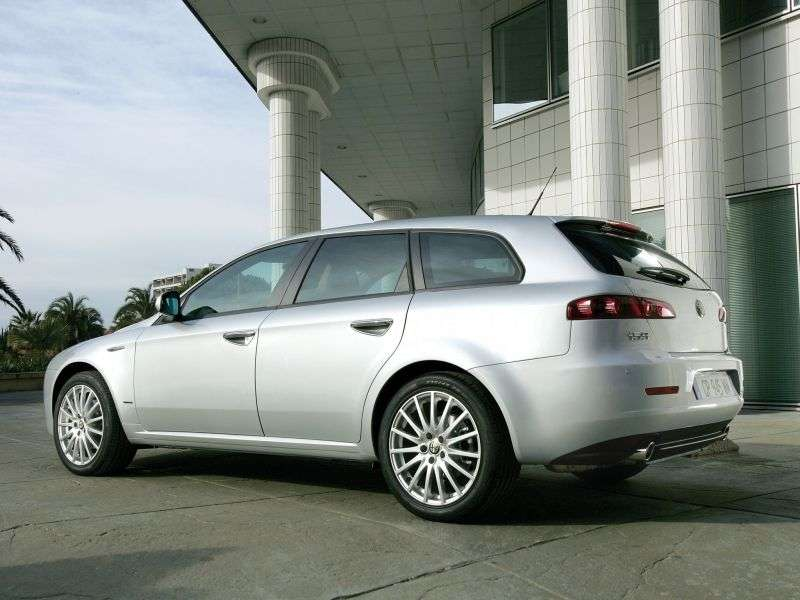 Alfa Romeo 159 1st generation Sportwagon station wagon 1.75 TBi MT (2009–2011)