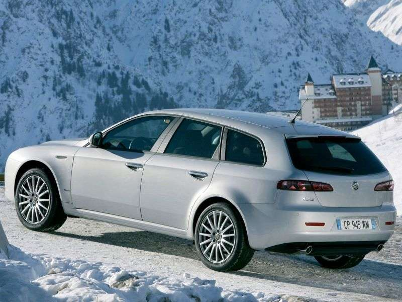 Alfa Romeo 159 1st generation Sportwagon station wagon 3.2 JTS MT (2008–2011)