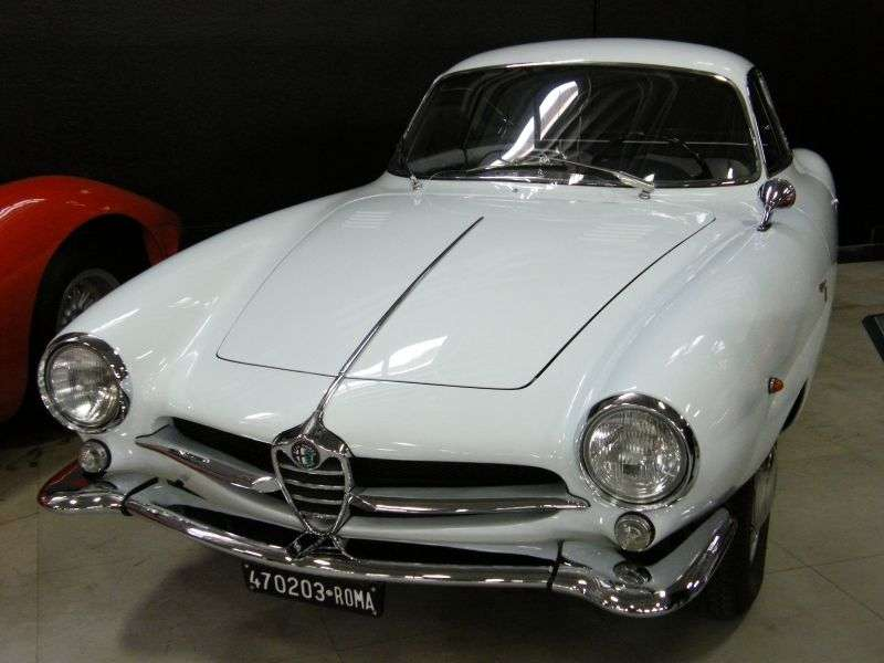 Alfa Romeo Giulietta 750/101 [2nd restyling] Sprint Speciale coupe 2 bit. 1.3 MT (1960–1962)