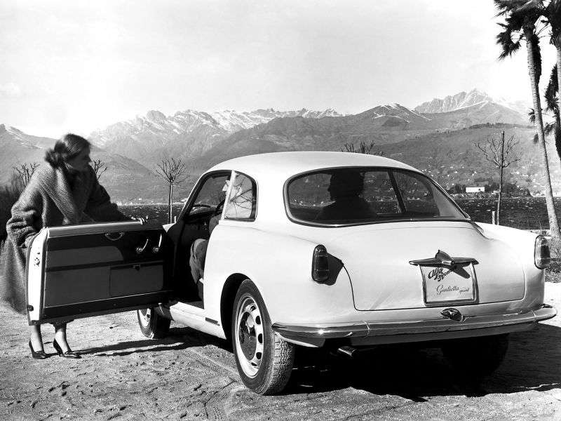 Alfa Romeo Giulietta 750 / 101Sprint Coupe 2 dv. 1.3 MT (1956–1959)