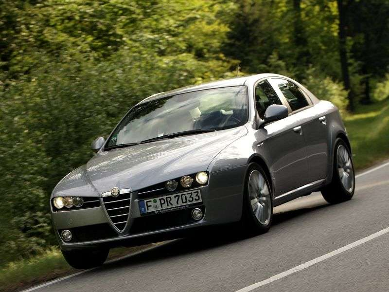 Alfa Romeo 159 1st generation 3.2 JTS MT sedan (2008–2011)