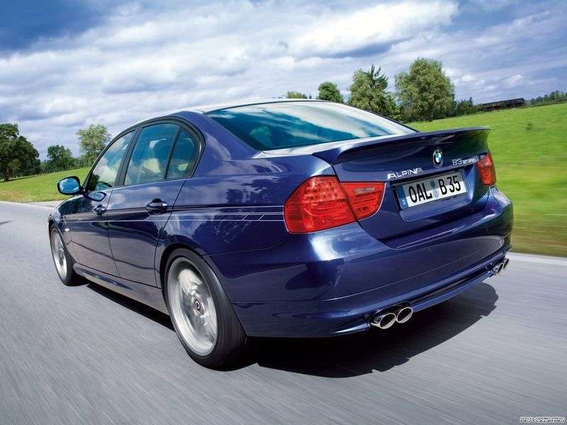 Alpina B3 E90 / 91/92 / 93sedan 4 doors 3.0i AT Basic (2007–2012)