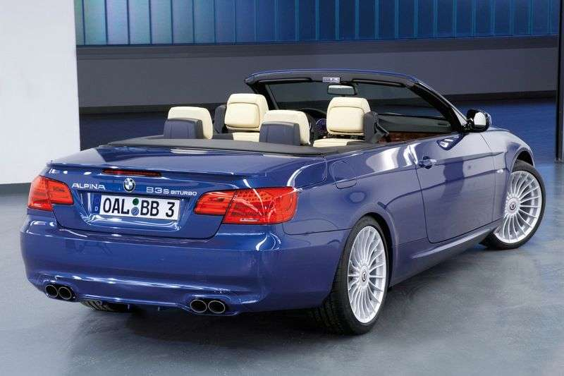 Alpina B3 E90 / 91/92/93 Cabrio 3.0i AT Basic (2007–2013)