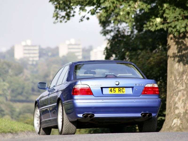 Alpina B12 E38 [restyled] sedan 5.7 AT (1995–1998)