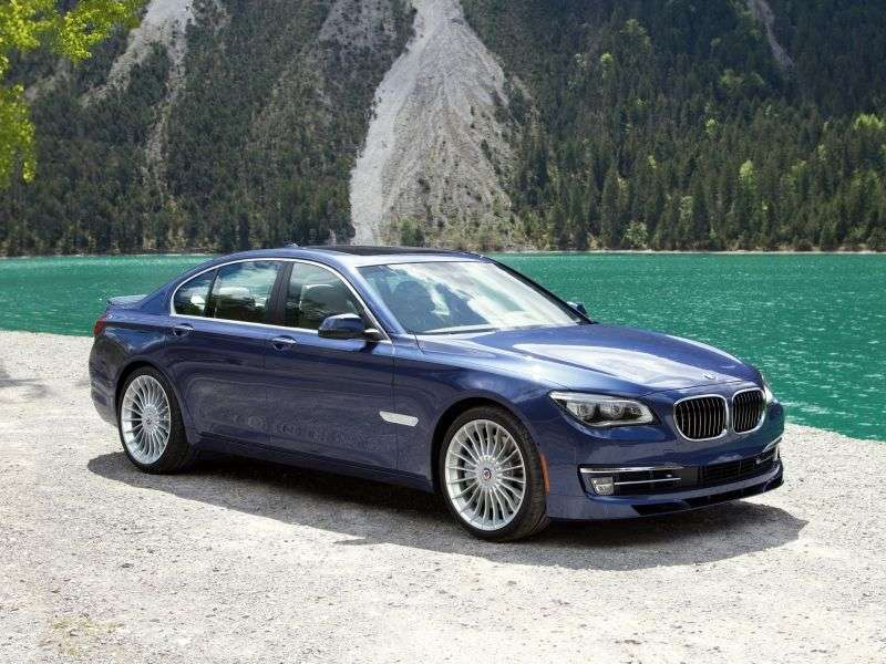 Alpina B7 F01 / F02 [restyling] sedan 4.4 AT LWB AWD Basic (2012 – present)