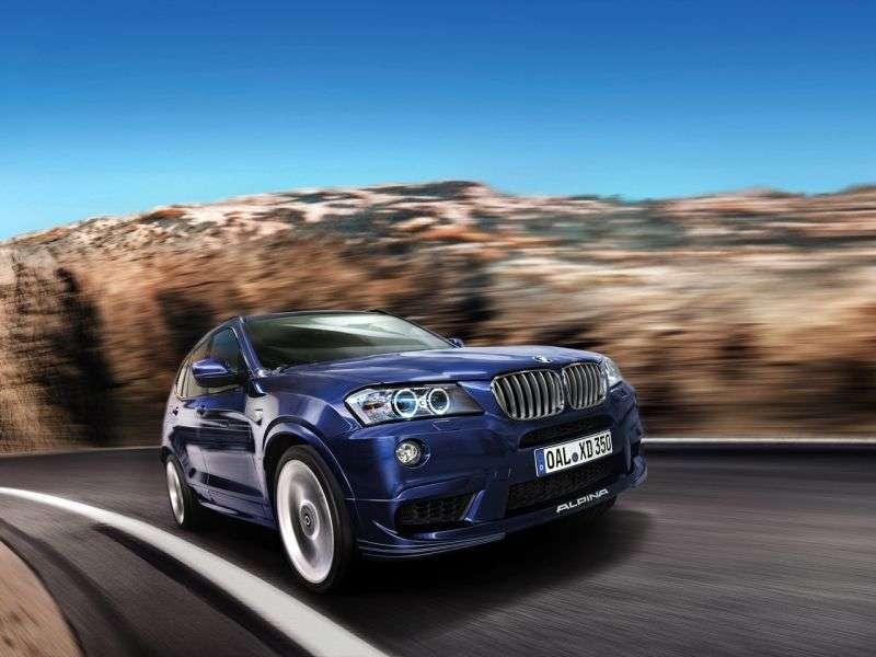 Alpina XD3 F25 crossover 3.0 BITURBO SWITCH TRONIC AWD Base (2013 obecnie)