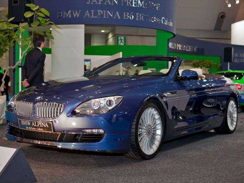 Alpina B6 F12 / 13 Cabriolet 4.4 BITURBO SWITCH TRONIC AT Basic (2011 obecnie)
