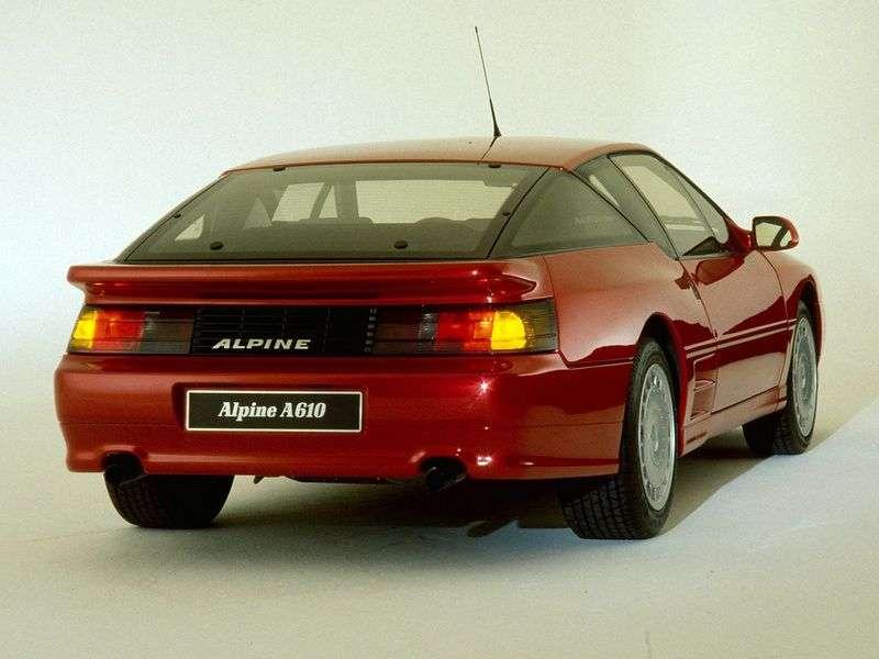 Alpine A610 coupe 1.generacji 3.0 MT (1991 1995)