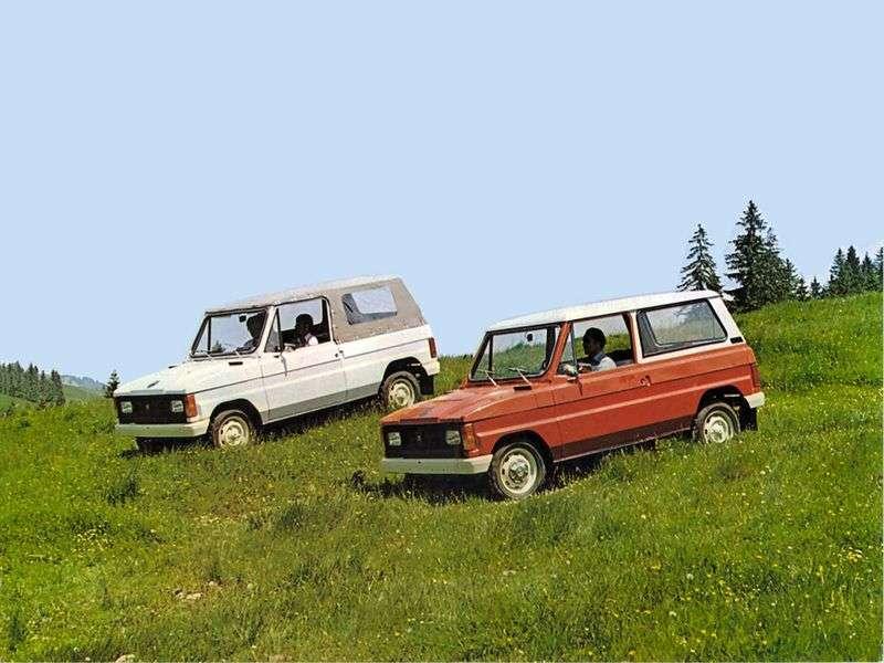 Aro 10 1st generation SUV 1.9 D 4WD MT (1996–2006)